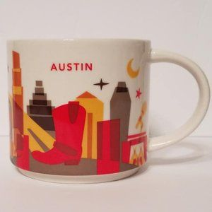 Starbucks You are Here Austin Coffee Mug 2014 YAH